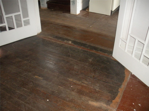 These Newly Red Floors Show Well How Heritage Fir Can Come Back To Life With The Rich Character Of 100 Years Living